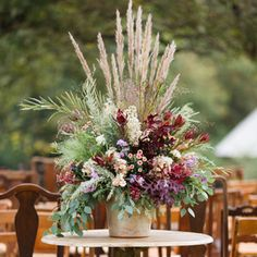 Natural Wedding Flower Arrangements
