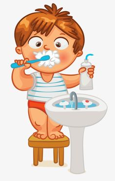 Escovar OS dentes do bebê, A Pasta De Dentes, Escova De Dentes, EspumaImagem PNG