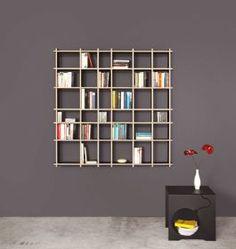 Ron 7/7 Plywood shelf Bookcase