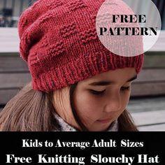 Free Pattern Knitting Classic Twist Headband - Annaluciadesign ~ free pattern knitting classic twist stirnband - annaluciadesign ~ bandeau à tricoter en tricot classique à motif gratuit - annaluciadesign Knit Slouchy Hat Pattern, Easy Knit Hat, Beanie Knitting Patterns Free, Knitted Headband Free Pattern, Baby Hats Knitting, Knitting For Kids, Easy Knitting, Knitted Hats Kids, Knit Hats