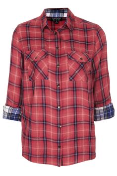 What's your verdict on checked shirts- scruffy or sweet?