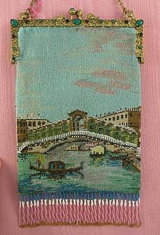 The frame is jewelled and the Italian scene rare - what a find!