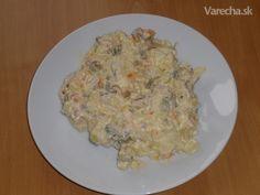 Zemiakový šalát trochu inak Grains, Rice, Meat, Chicken, Food, Essen, Meals, Seeds, Yemek