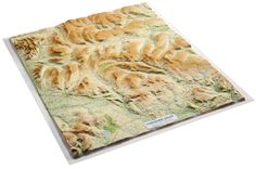 Yorkshire Dales 3D Relief Map A stunning relief map of almost the entire Yorkshire Dales National Park in 3D; created and printed using the latest technology in digital terrain cartography and vacuum forming techniques. Map contours are used to raise the relevant parts of the map to provide an accurate 3-dimensional representation of the hills and valleys across the Yorkshire Dales.  From £89.99 #3D #Yorkshire #Dales #Map