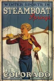 steamboat springs poster