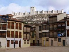 Penafiel.Plaza Coso del Castilo. Peñafiel