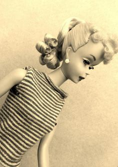 #3 or #4 vintage barbie Lisa I think this if one of the original Barbies she sure has come a long way