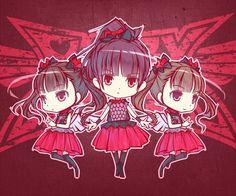Babymetal fan art by  haiiro Twitter @hi_ghi_ro