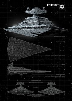"Official Star Wars Spaceships Technic Star Destroyer artwork by artist ""Star Wars"". Poster S, Star Wars Poster, Poster Prints, Star Wars Concept Art, Star Wars Fan Art, Film Science Fiction, Nave Star Wars, Star Wars Spaceships, Star Wars Personajes"