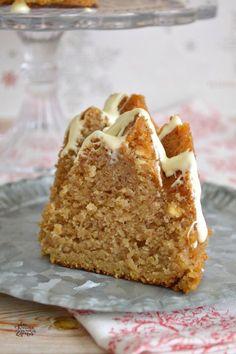 Bundt Cake de Mermelada y Chocolate Blanco   CON HARINA EN MIS ZAPATOS