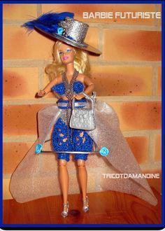 Barbie Et Ken, Crochet Barbie Clothes, Captain Hat, Creations, 2013, Hats, Blog, Dresses, Image