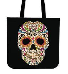 Calavera Tote Bag   RA-mazing