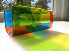 fused glass business card holder - Recherche Google