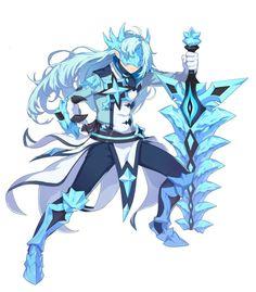 그랜드체이스 카페톡 Fantasy Character Design, Character Design Inspiration, Character Concept, Character Art, Concept Art, Fantasy Characters, Anime Characters, Ancient Demons, Ange Demon
