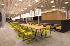 food market at the ETH Zurich by Barmade Interior Design, Zurich – Switzerland