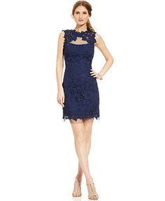 ... | Pinterest | Lace Sheath Dress, Crochet Lace and Sheath Dresses