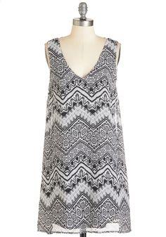 super cute Chevron printed dress