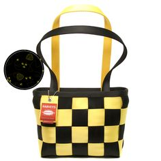 """LTD Medium Tote Honey Bee - Even the husband said """"BUY IT!""""  Why?  Steelers colors.  ;)"""