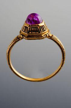 Anillo  Oro y rubí  Italia, hacia 1600  T52