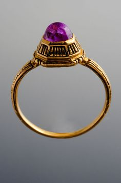 Ring  Gold and ruby  Italy, 1600