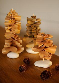 handmade - paper trees | Flickr - Photo Sharing!