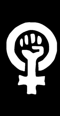 Woman Power Logo (The women's movement often co-opted symbols from the Black Power movement of the to use in order to further the cause of women. This symbol was especially prominent amongst radical feminists and black feminists. Feminist Patch, Feminist Art, Feminist Tattoo, Feminist Theory, Feminist Quotes, Power Logo, Feminist Movement, Riot Grrrl, Intersectional Feminism