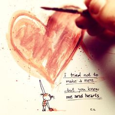 Heart is a mess. by: taruarn © 2012