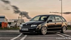Fabia Combi Skoda Fabia, Stance Nation, Station Wagon, Mk1, Custom Cars, Cars And Motorcycles, Dream Cars, Automobile, Vehicles