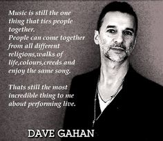 Dave Gahan of depeche Mode                                                                                                                                                                                 Más