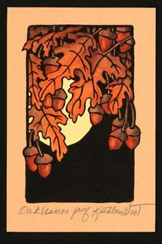 Oak Leaves: Kathleen West