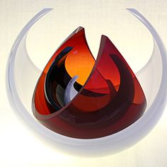 Hand blown glass by Desiree Hope