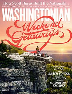 May 2014 lettering for Washingtonian Magazine - Jill De Haan