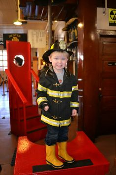 Our Visit to The Denver Firefighters Museum