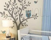 Owl baby decor