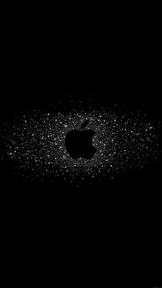 nice logo-art-apple-rainbow-minimal-dark-iphone6-plus-wallpaper
