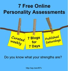 Do you know what your strengths are? Take 1 - or all 7 - of