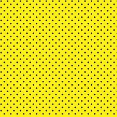 Textura poá amarelo