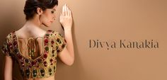 Divya Kanakia Blouses - Exclusively In    I need a reason to buy this....soon.