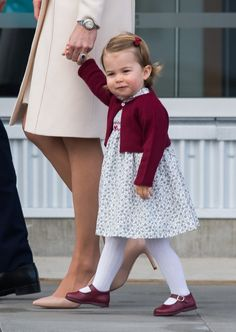 Princess Charlotte Handled Her First Royal Tour Like a Tiny Pro