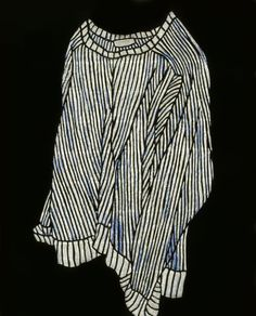 Obscure Clothes . 53 x 45.5cm. Glue, acrylic on urethane and canvas. 2005