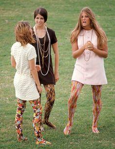 1968: Las medias estampadas