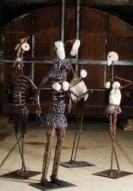 Paris Art Web - Sculpture - Vincent Magni - Ethnomobiles