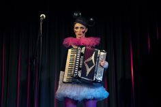"Photography by Natalie Herlinghaus www.studio-herlinghaus.de, Miss Natasha Enquist - www.natashaenquist.com, ""Like"" my FB page: www.facebook.com/MissNatashaEnquist #missnatashaenquist #accordion #accordionist #femaleaccordionist #mickeymouse #clown"