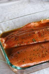 Salmon Marinade and Cajun Seasoning