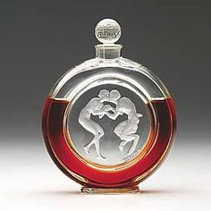 ♔ Bottles & Boxes ♔ perfume, snuff & decorative containers - Lalique Perfume Bottle
