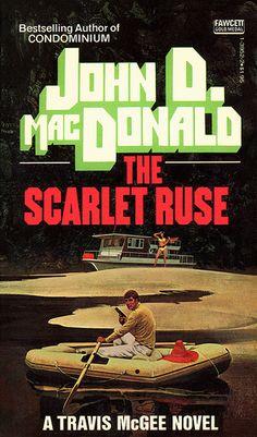 McGinnis, The Scarlet Ruse Pulp Fiction Book, Crime Fiction, Adventure Novels, Crime Books, Detective, Pocket Books, Thriller Books, Classic Books, Paperback Books