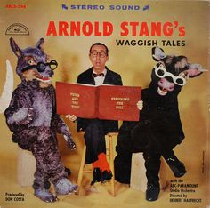 Arnold Stang was the voice of Top Cat. This just goes to show some of this other talents. Worst Album Covers, Cool Album Covers, Music Album Covers, Music Albums, Lp Cover, Vinyl Cover, Cover Art, Arnold Stang, Bad Album