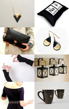 Not So Basic Black by Debbie Walker Durnwald on Etsy--Pinned with TreasuryPin.com