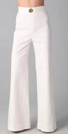 VIKTOR & ROLF    Wide Leg Denim Pants  Style #:VANDR40061  $595.00