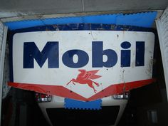 Mobil sign.